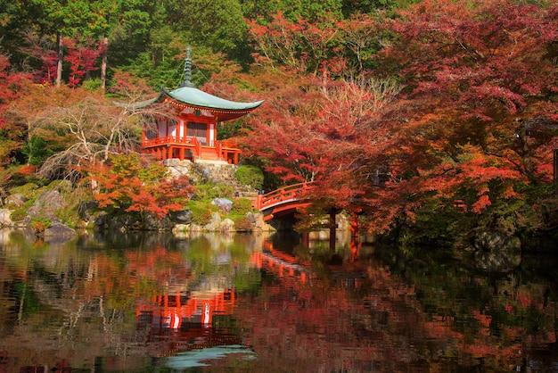 Daigo-ji temple at fall, kyoto