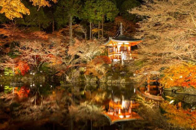 Daigoji temple night kyoto