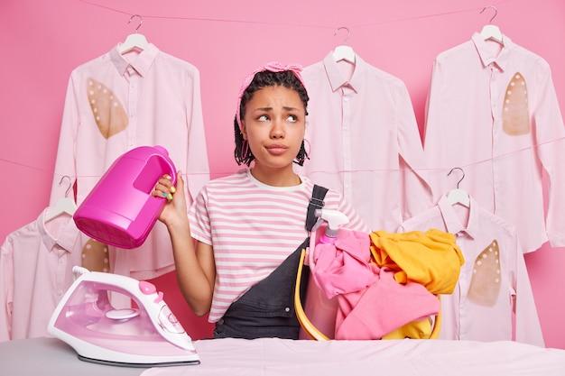 Ежедневные домашние дела, напряженный день и домашние дела