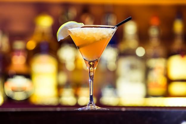 Daiquiri cocktail on the bar