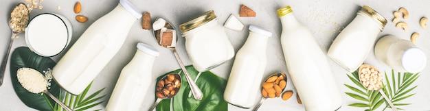 乳製品を含まない牛乳代用飲料および原材料