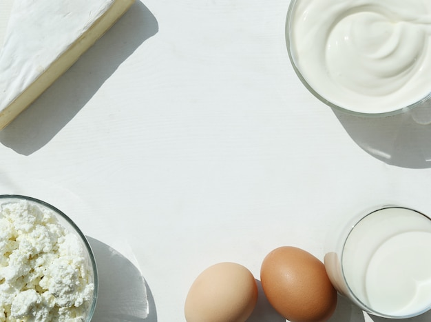 Dairy products and eggs