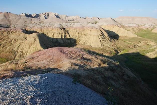 Dakota national scenery south park badlands