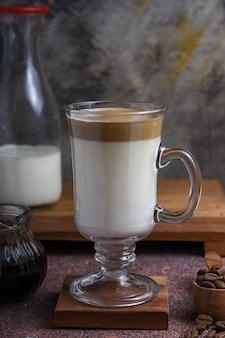 Dalgona coffee fluffy creamy whipped coffee