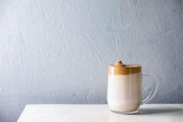 Dalgona frothy coffee