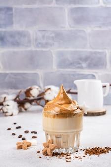 Dalgona корейский кофе