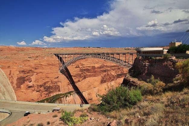 Dam on colorado river in arizona