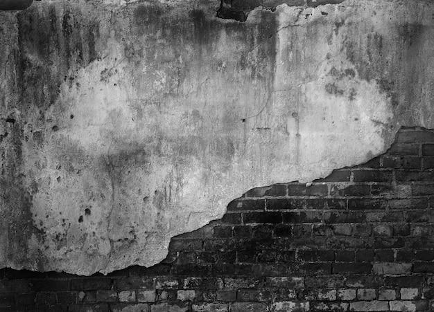 Поврежденный бетонный блок стены фон