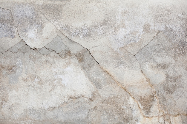 Damaged wall texture with cracks