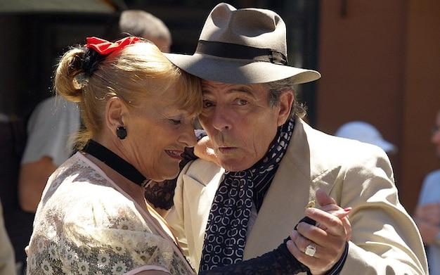 Ballo di coppia emozionale tango argentina