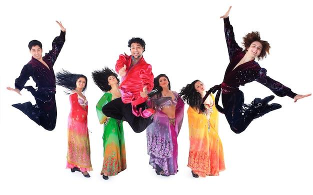 踊るローマ。 Premium写真
