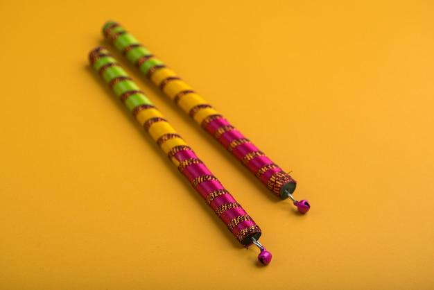 Dandiya sticks for indian folk dance
