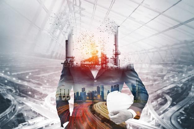 従来の電力による大気汚染の危険性。