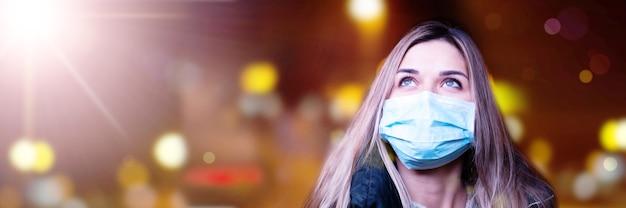 위험한 코로나 바이러스, 전염병 위험 개념. 3d 일러스트레이션