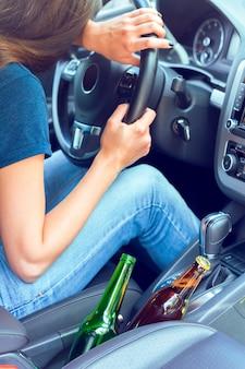 Dangerous female driver