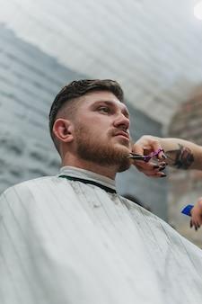Dangerous razors in barbershop