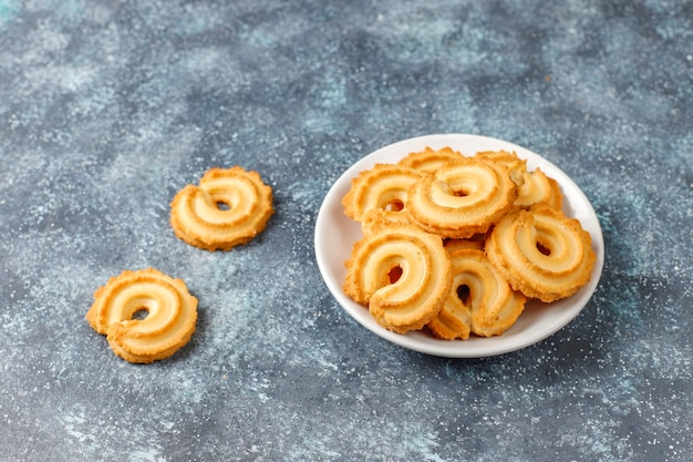 Danish butter cookies.