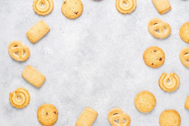 Датское масляное печенье.