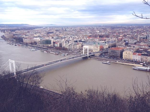 부다페스트에서 다뉴브 강