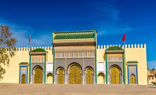 Dar el-makhzen, the royal palace in fes - morocco