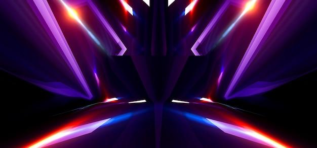 Dark abstract futuristic background