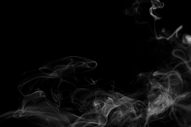 Sfondo astratto scuro, design fumo