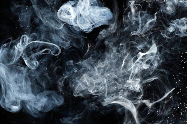 暗い抽象的な壁紙の背景、煙のデザイン