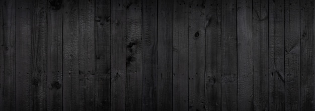 Dark black wood background that comes from natural trees.