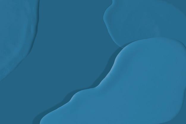 Dark blue acrylic texture background wallpaper