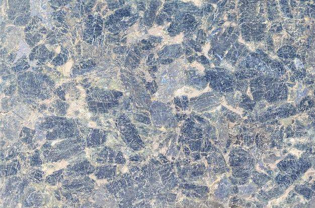 ダークブルーの花崗岩質感の模様の表面を閉じる