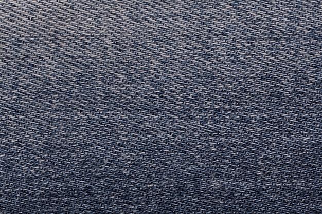 Dark blue denim background  textured fabric