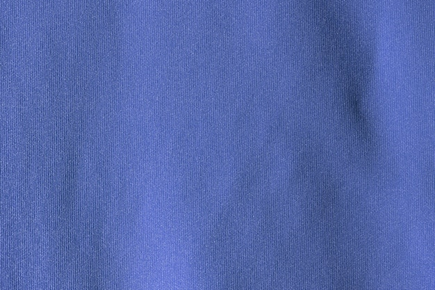 Dark blue fabric cloth polyester texture and textile background.