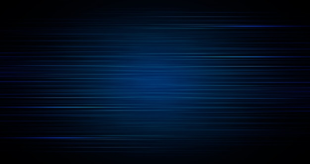 Dark blue light abstract