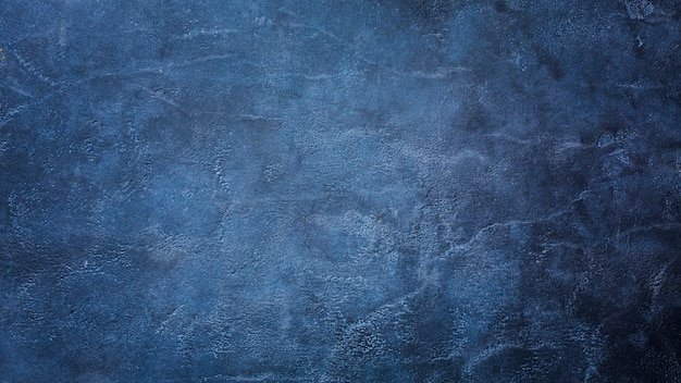 Dark blue marble texture background with copy space