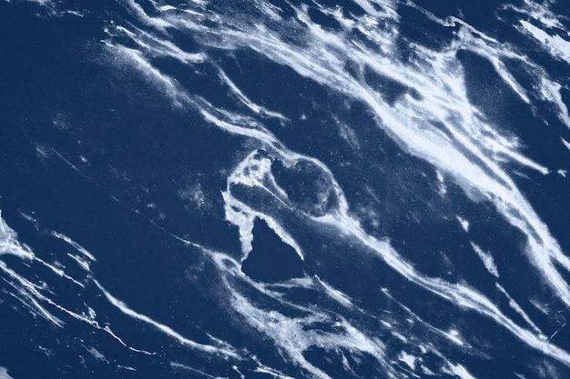 Темно-синий мрамор текстурированный фон