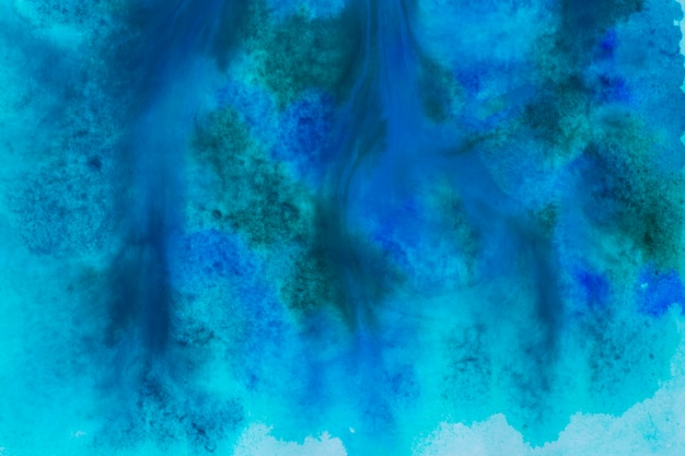 Dark blue watercolour paint background
