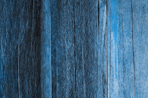 Struttura della parete in legno blu scuro
