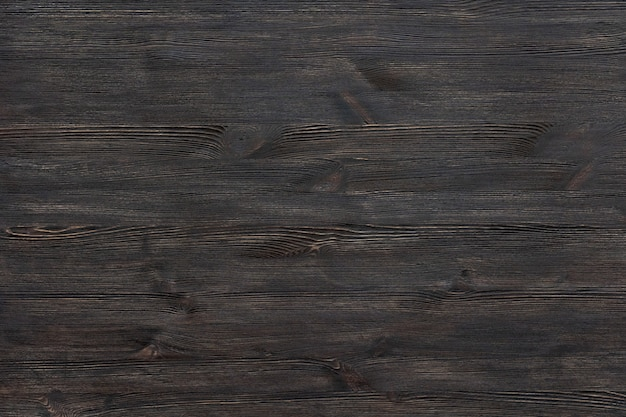 ダークブラウン塗装木製デスク背景テーブルトップ