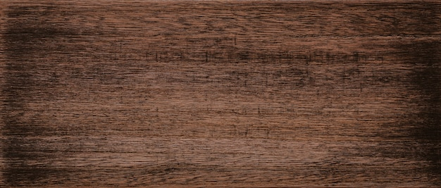 ダークブラウンの木製テクスチャ背景。