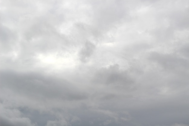 Темные тучи перед дождем покрыли все небо маленькими солнечными лучами