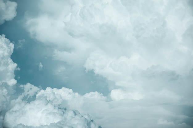 Dark clouds. rainclouds or nimbus in rainy season