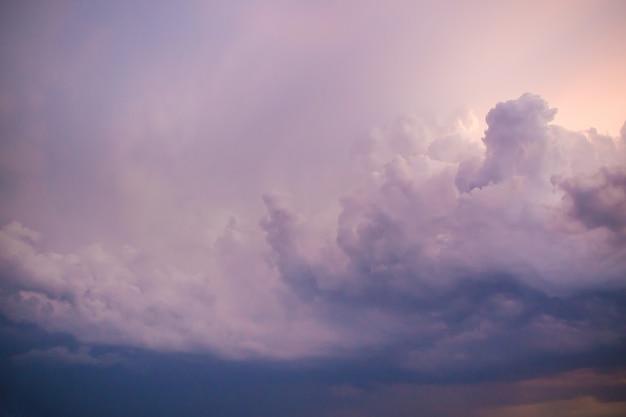 Dark cloudy day
