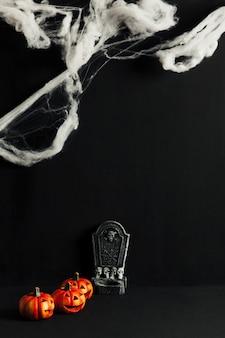 Dark composition for halloween