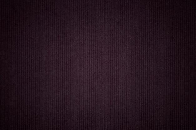 ダークコーデュロイ生地の織り目加工の背景