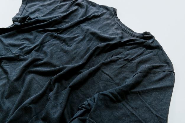 Dark creased t shirt