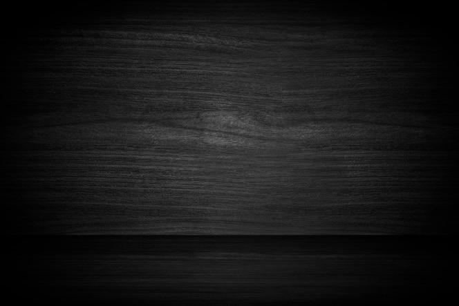 Dark gray wooden textured product background