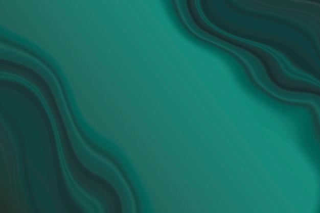 Dark green marble wave background