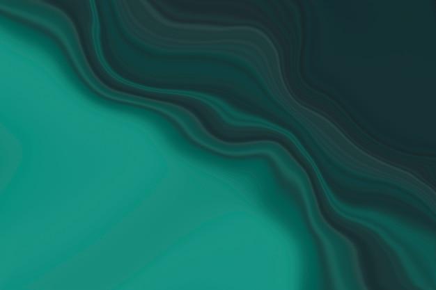 Темно-зеленый мраморный фон волны