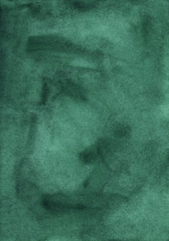 Dark green watercolor surface background