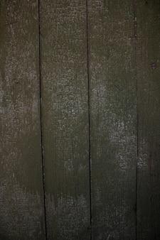 Dark green wood texture background top view  peeling paint
